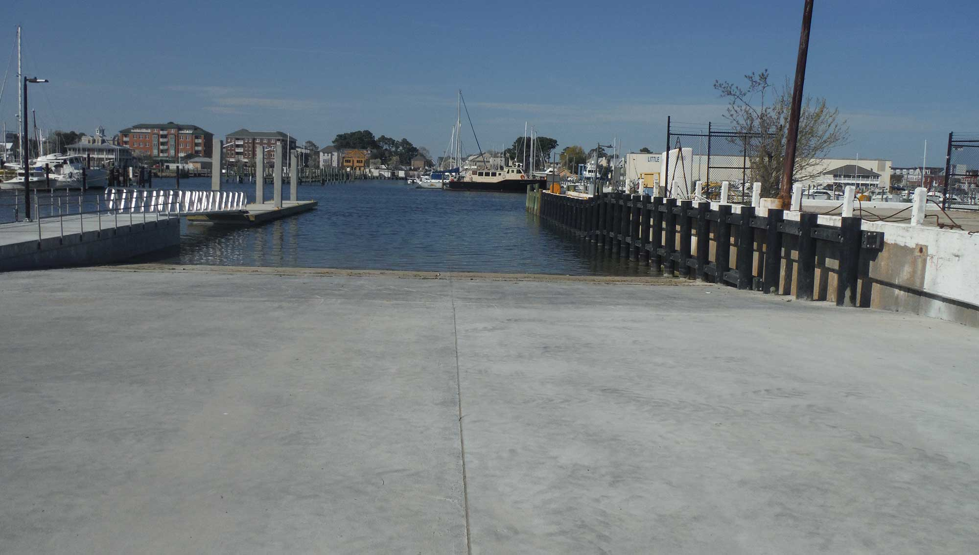 Replacement of Boat Ramp West of Pier 34 (4)