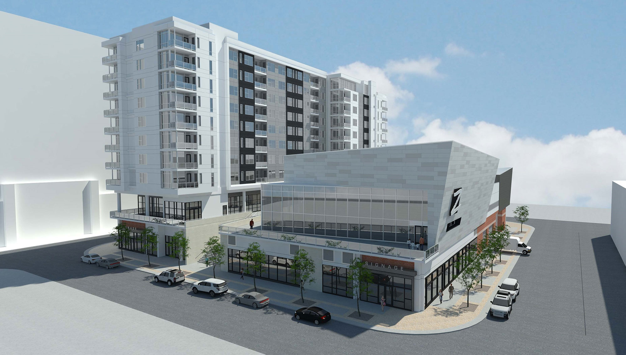 Mixed-Use Development at Town Center Block 1