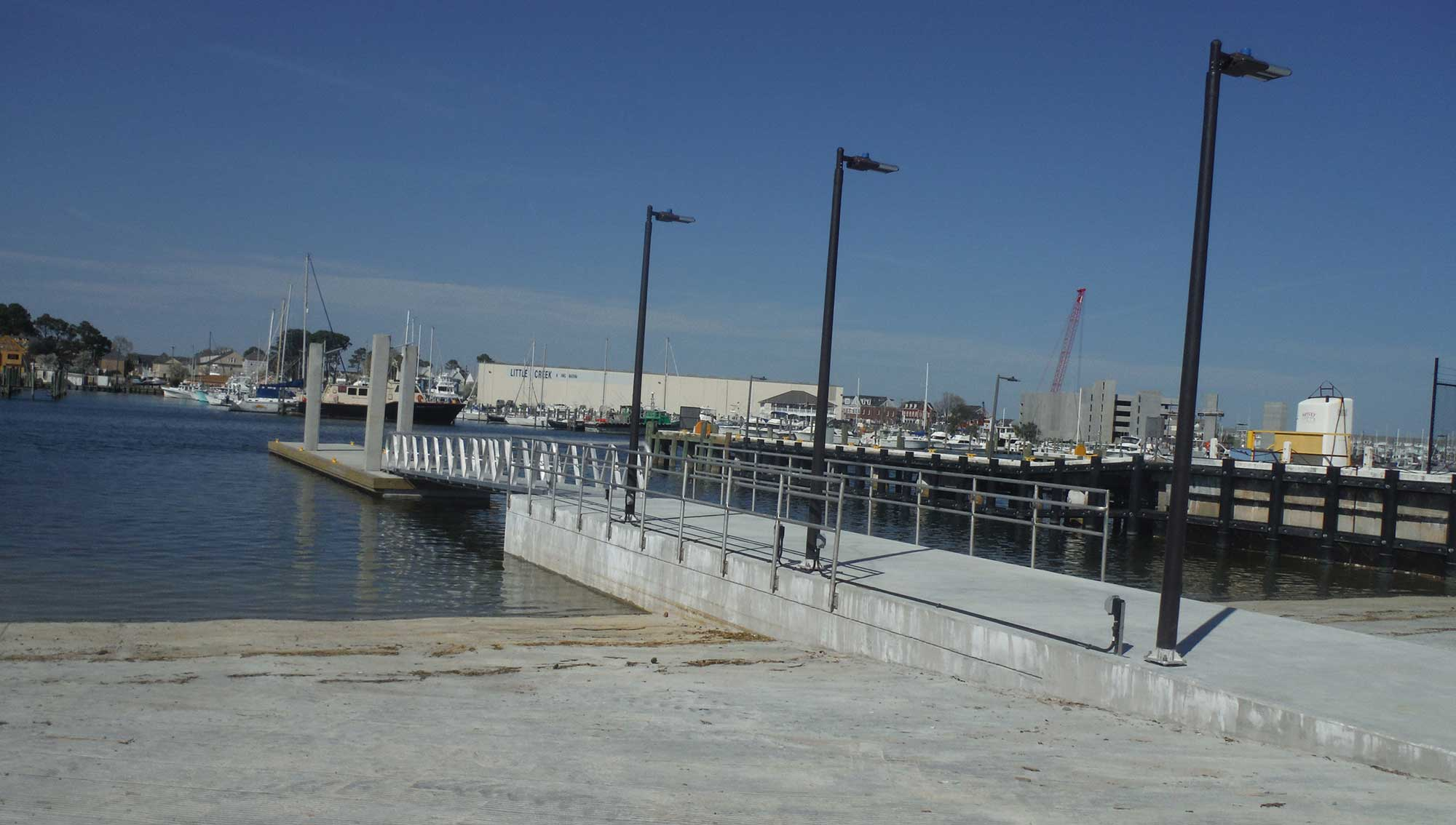 Replacement of Boat Ramp West of Pier 34 (2)